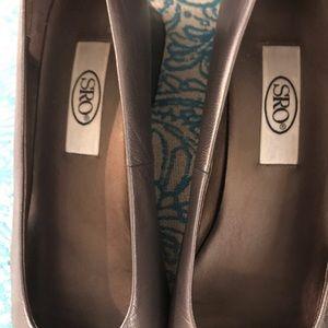 sro Shoes - Silver shoes